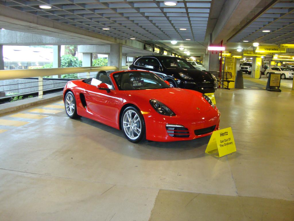 HertzPorscheRental