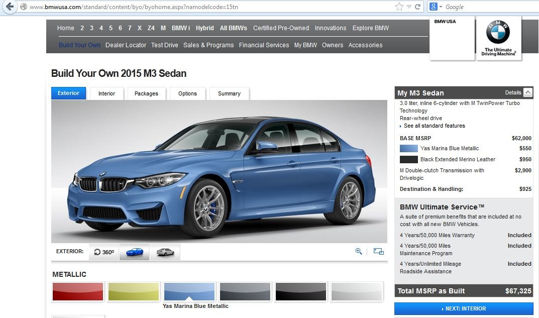 2015_BMW_M3_Builder