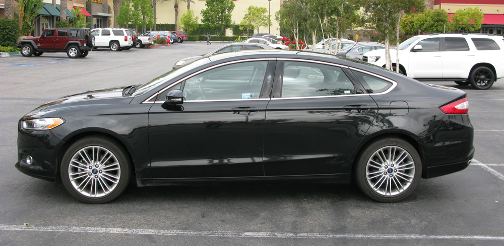 Test Drive 2014 Ford Fusion Se 2 0l Ecoboost Youwheel
