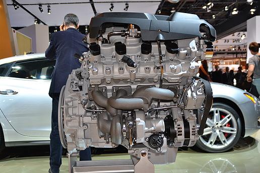 Maserati_Quattroporte_3.8V8_Engine
