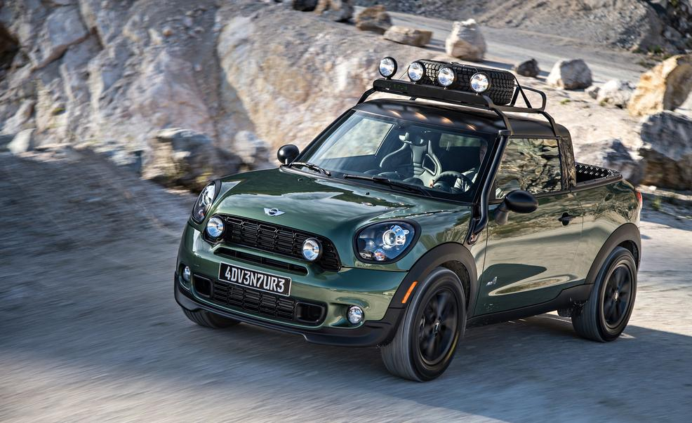 Mini Cooper Pickup Truck The Paceman Adventure Youwheelcom