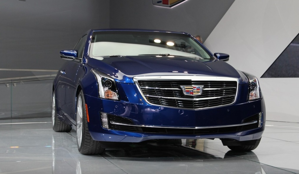 2015 cadillac ats sedan gets facelifted power gained for 2 0t engine your. Black Bedroom Furniture Sets. Home Design Ideas
