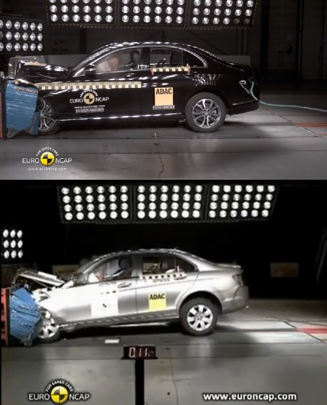 NCAP_Mercedes_CClass_Comparison_Front