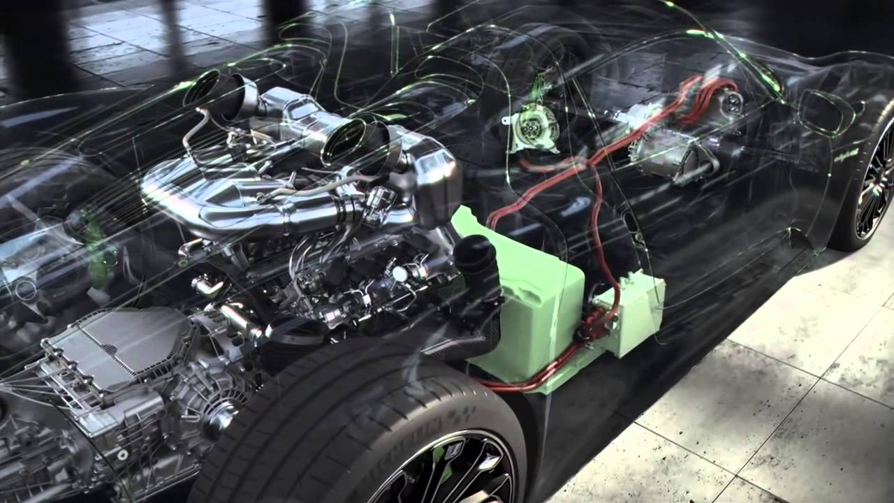 Porsche_918_Powertrain
