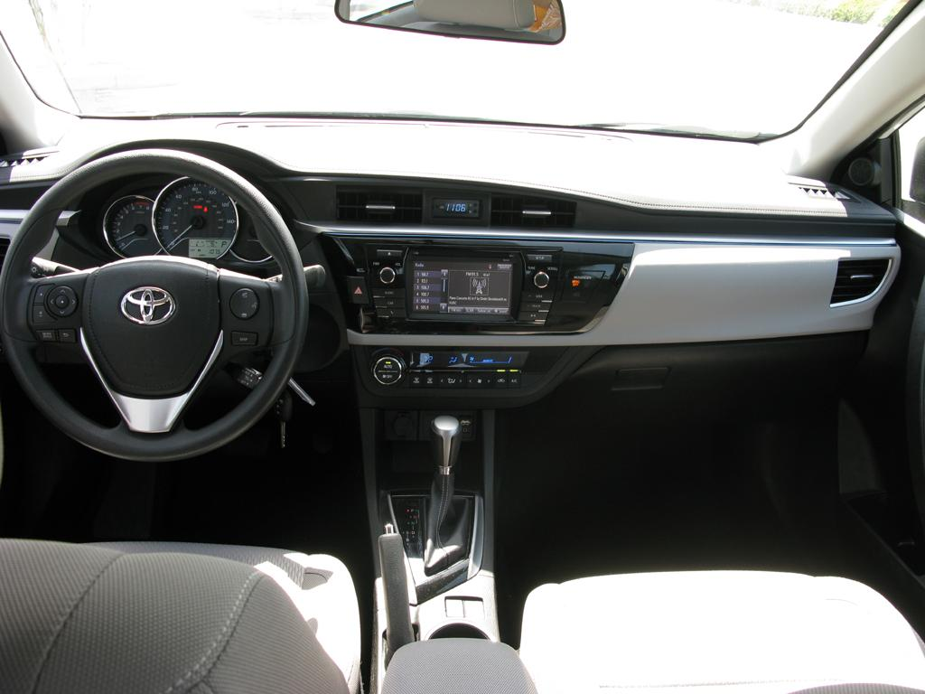Test Drive Review 2014 Toyota Corolla Le Part 2 Interior Your Ultimate And