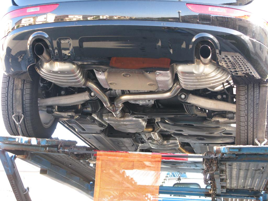 Undercarriage Of Audi Q5