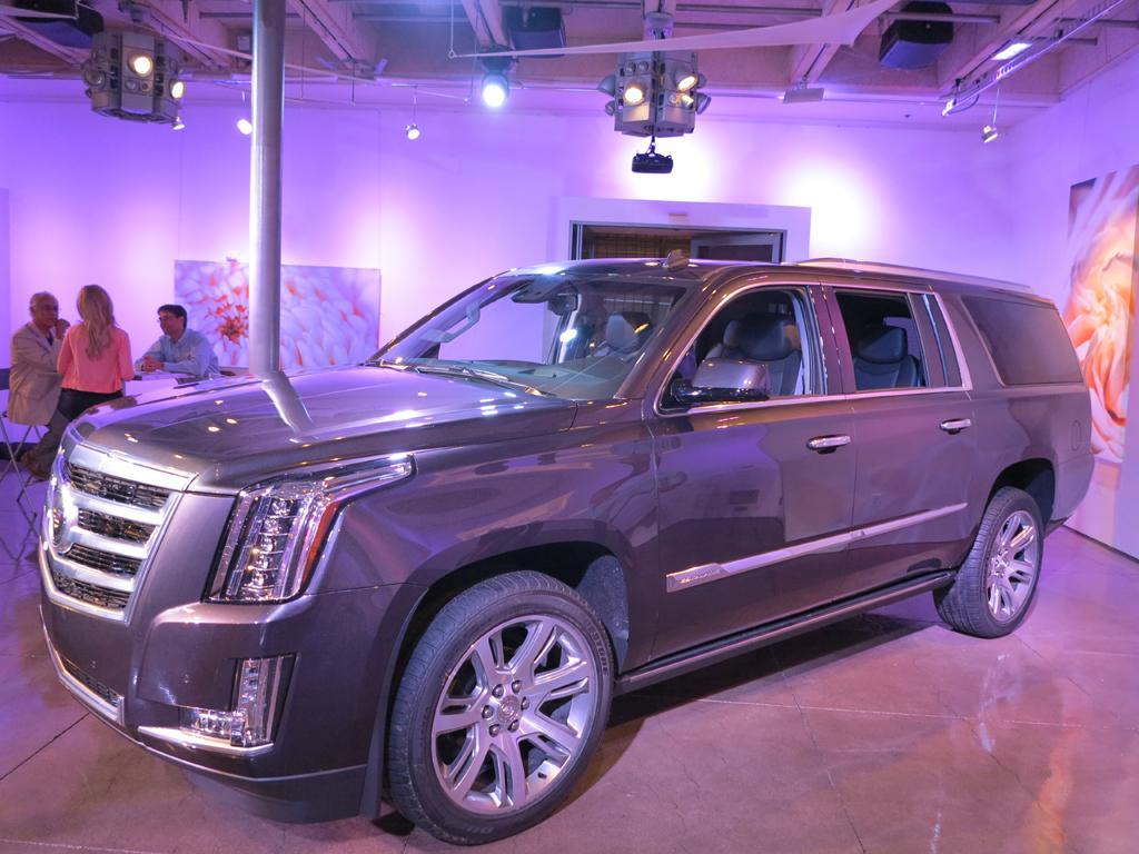 Impression The 2015 Cadillac Escalade Youwheel Com