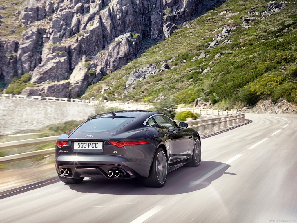 jaguar will reveal 2015 f type r awd coupe la auto show. Black Bedroom Furniture Sets. Home Design Ideas