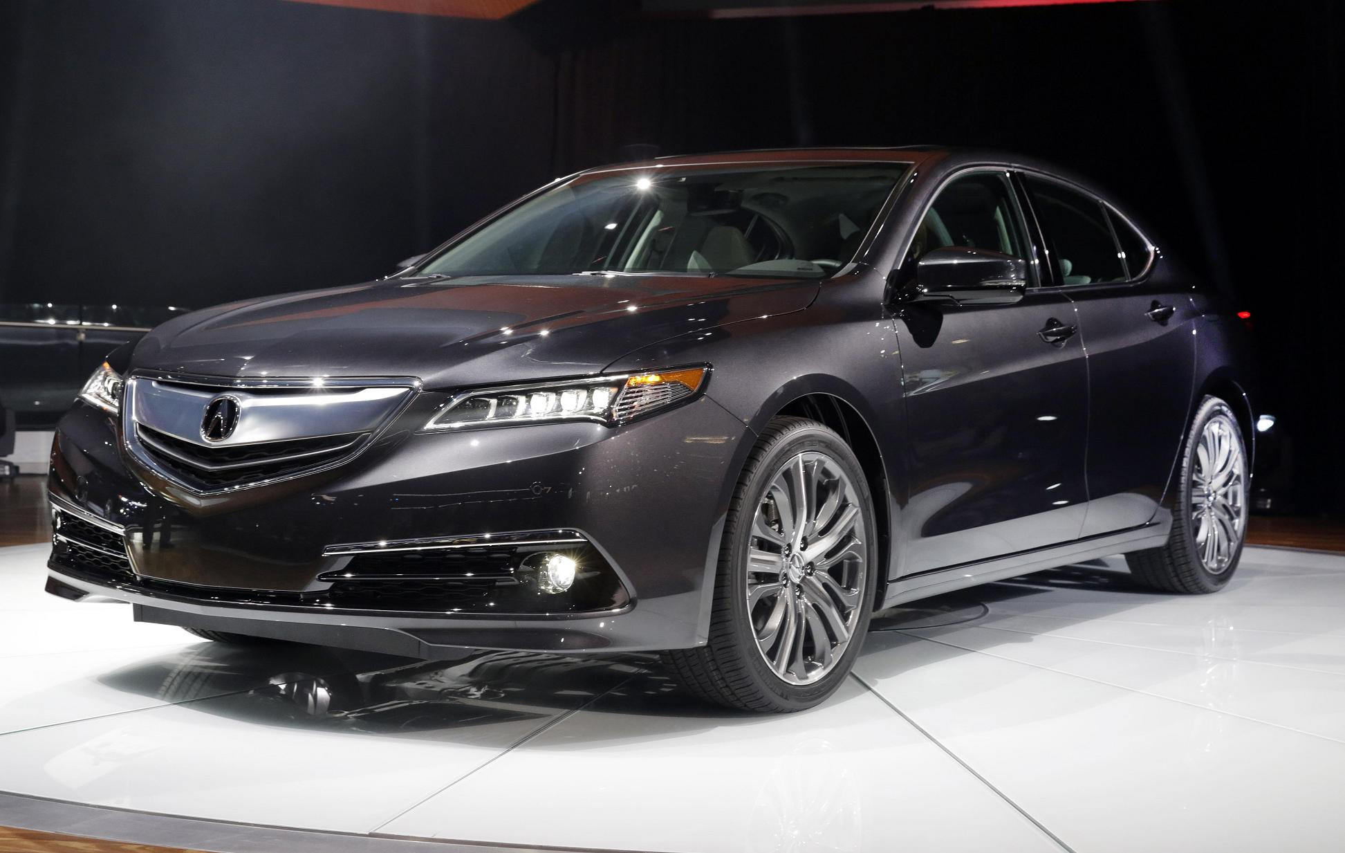 new 2015 Acura TLX, which is the successor to the previous Acura TL