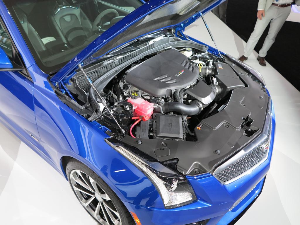 Cadillac Ats V Lashow on First Cadillac V8 Engine