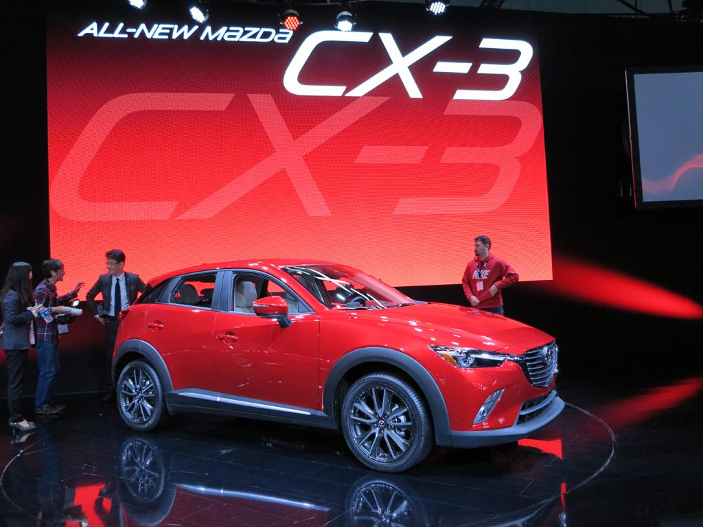 La Auto Show The 2016 Mazda Cx 3 Youwheel Com Your Ultimate And Professional Car Resources