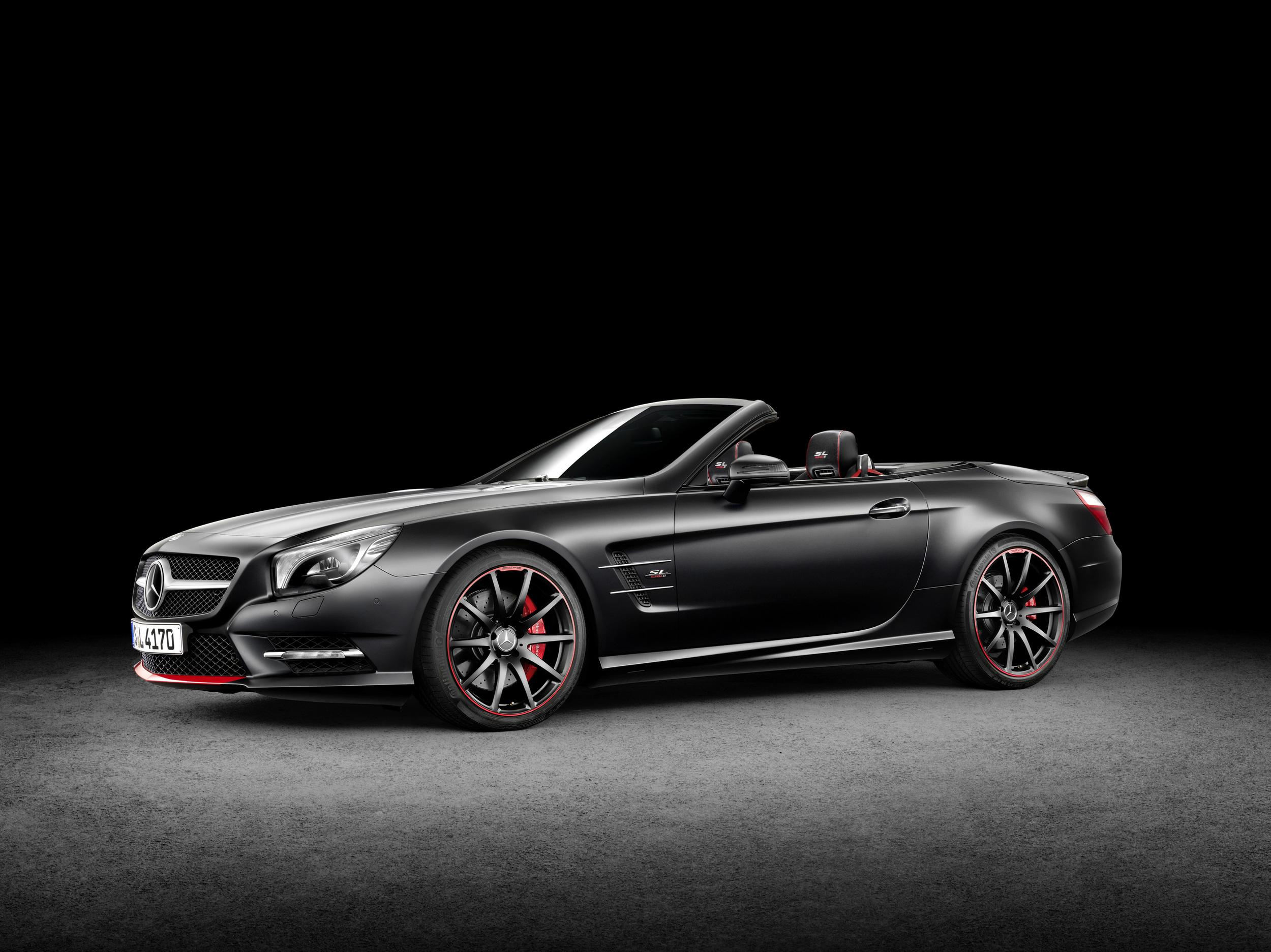 Mercedes benz announced sl550 special edition mille miglia for Mercedes benz sl550