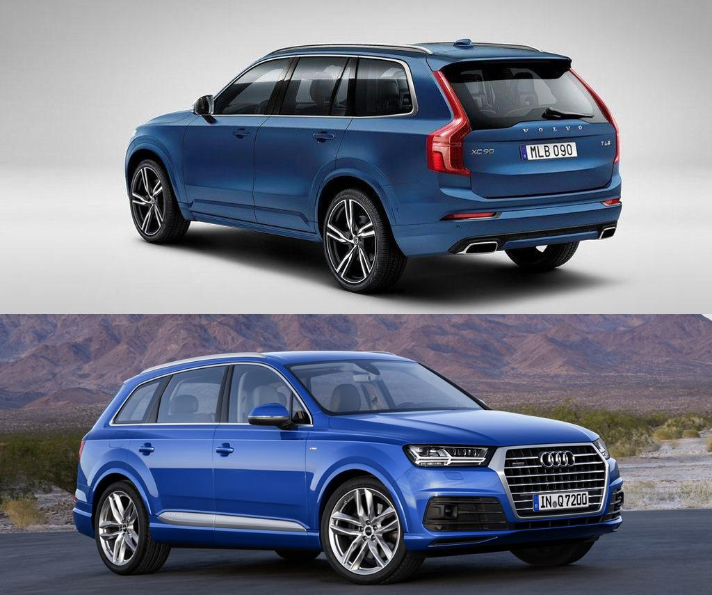 Two Upcoming Performance SUVs: Volvo XC90 Polestar, Audi