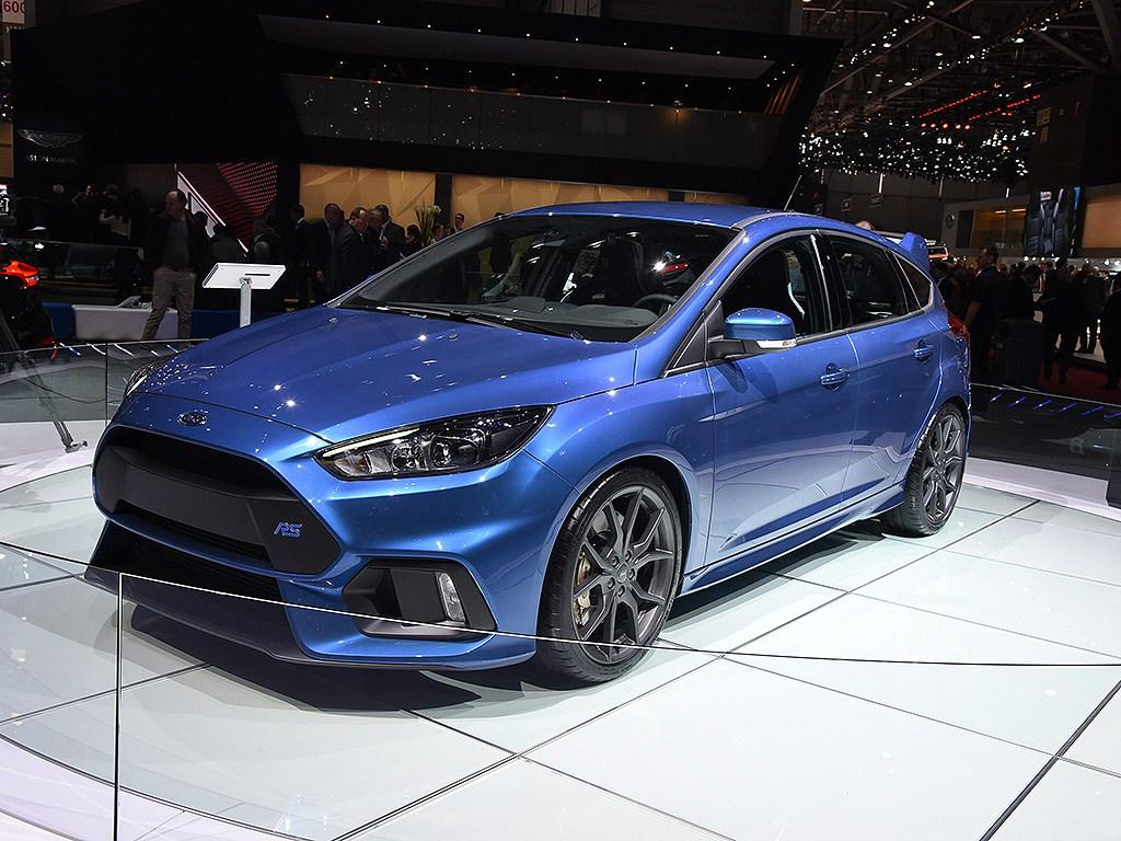 Above image 2016 ford focus rs on display in the 2015 geneva auto