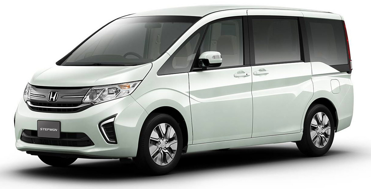 AllNew Honda Stepwgn First Honda Model To Use L Turbo Engine - All honda model cars
