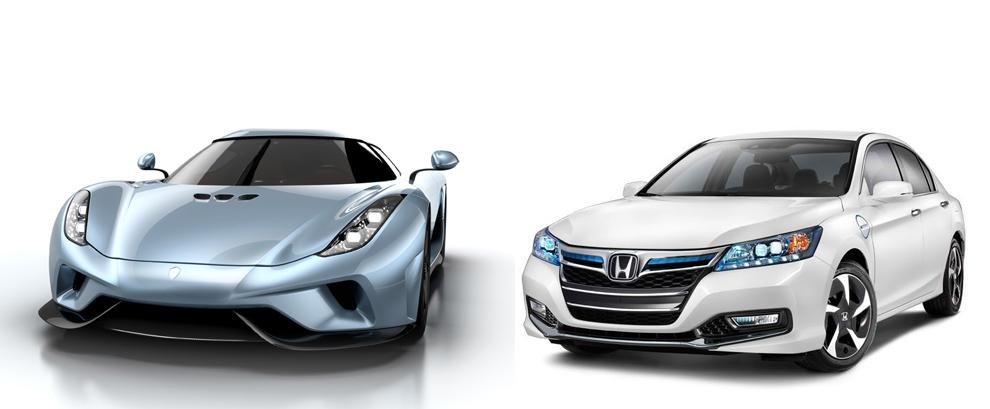 Exclusive Analysis: from Honda Accord Hybrid to Koenigsegg Regera