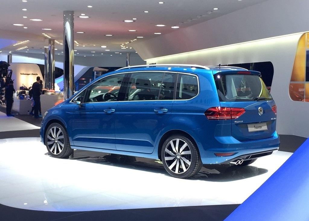 from Geneva: The 2016 Volkswagen Touran - YouWheel.com - Car News