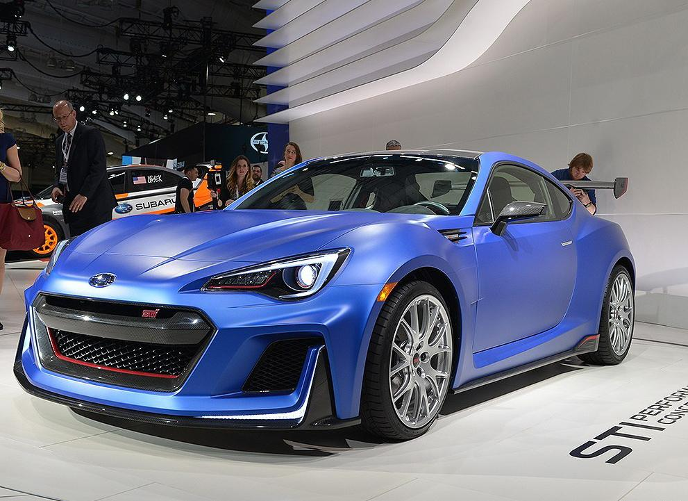 breaking subaru brz sti confirmed car news and review. Black Bedroom Furniture Sets. Home Design Ideas