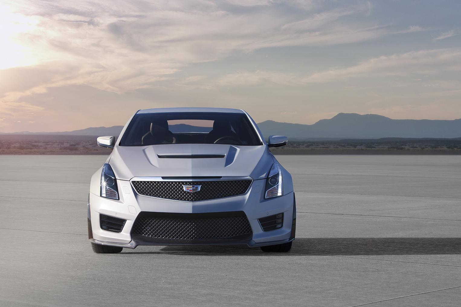 2016_Cadillac_ATS-V_Front