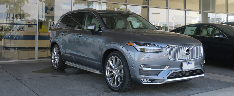 Test Drive: the 2016 Volvo XC90 T6 AWD Inscription